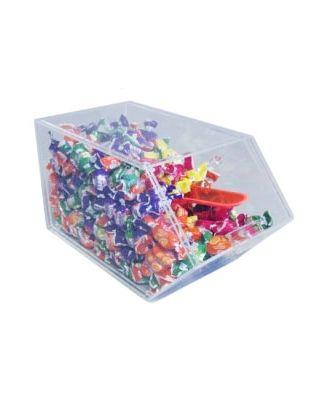 Présentoir alimentaire plexiglas 1 compartiment