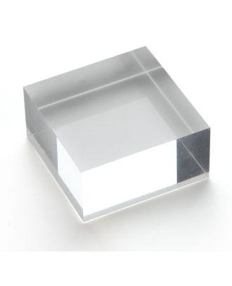 Bloc plexiglas d'agencement 50 x 25 x 50 mm