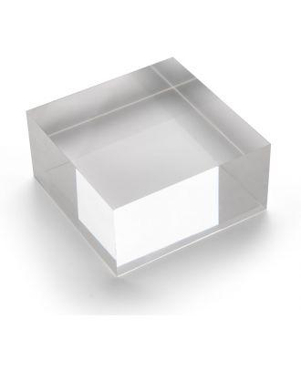 Bloc plexiglas d'agencement 100 x 50 x 100 mm