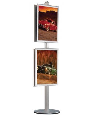 Porte affiches A1 sur pied TABL4