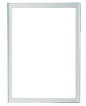 Cadre autoadhésif pour vitre 1 mm porte affiche A4