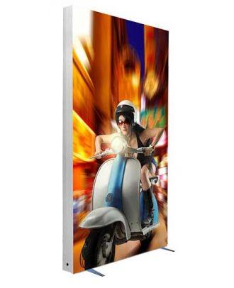 Totem RETROLUM3 100 x 200 cm personnalisé