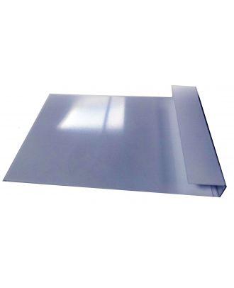 Porte visuel plexiglas A4 vertical de pare soleil