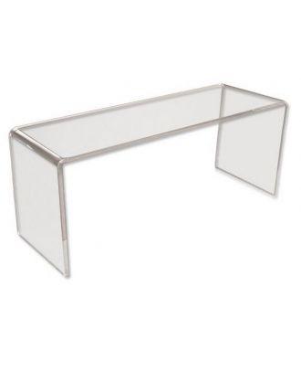 Podium plexiglas U rectangle 100 x 100 x 300 mm