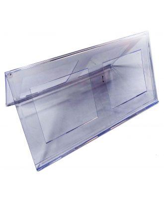 Chevalet porte nom plexiglas 150 x 297 mm PPK778