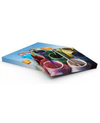 Tableau en toile canvas personnalisé A3