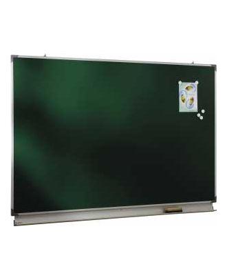 Tableau d'écriture émaillé vert NF 120 x 150 cm