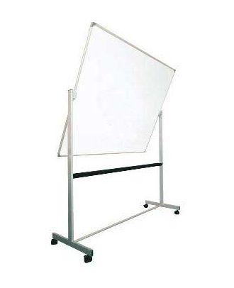 Tableau rotatif émaillé 120 x 150 cm avec axe horizontal