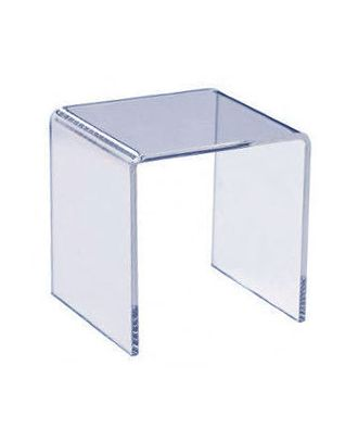 Podium plexiglas U carré 200 x 200 x 200 mm
